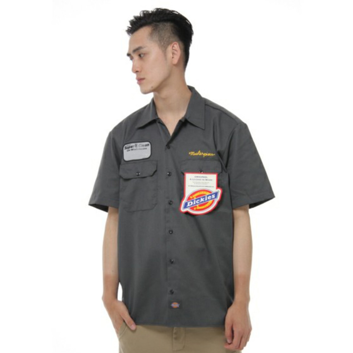 x Dickies Work Shirt Charcoal Gray