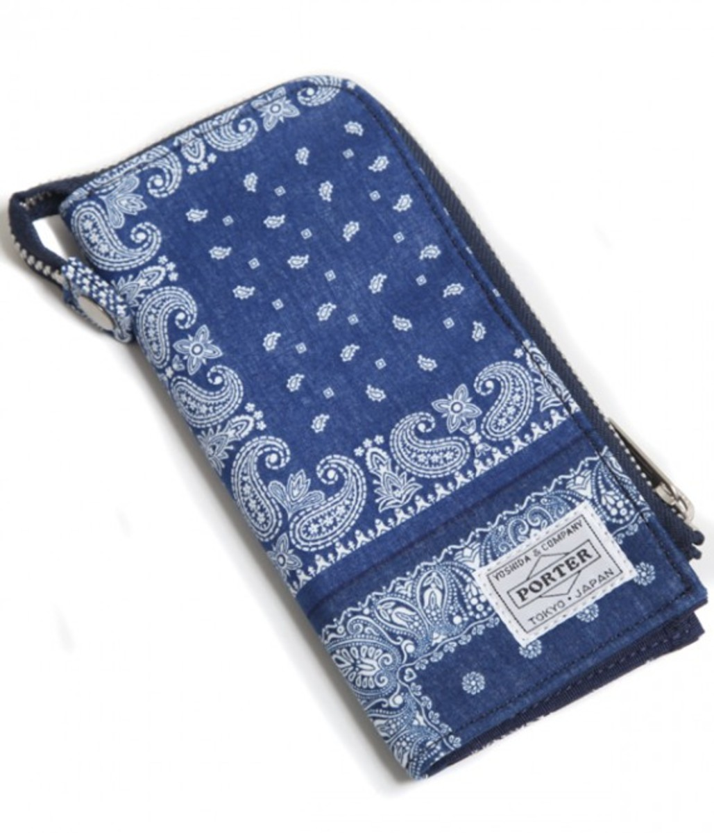 Long Wallet Blue