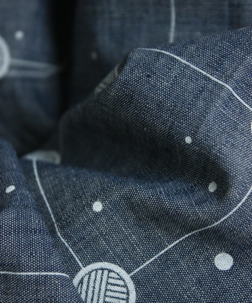 Cosmic Grid Shirt Blue 7