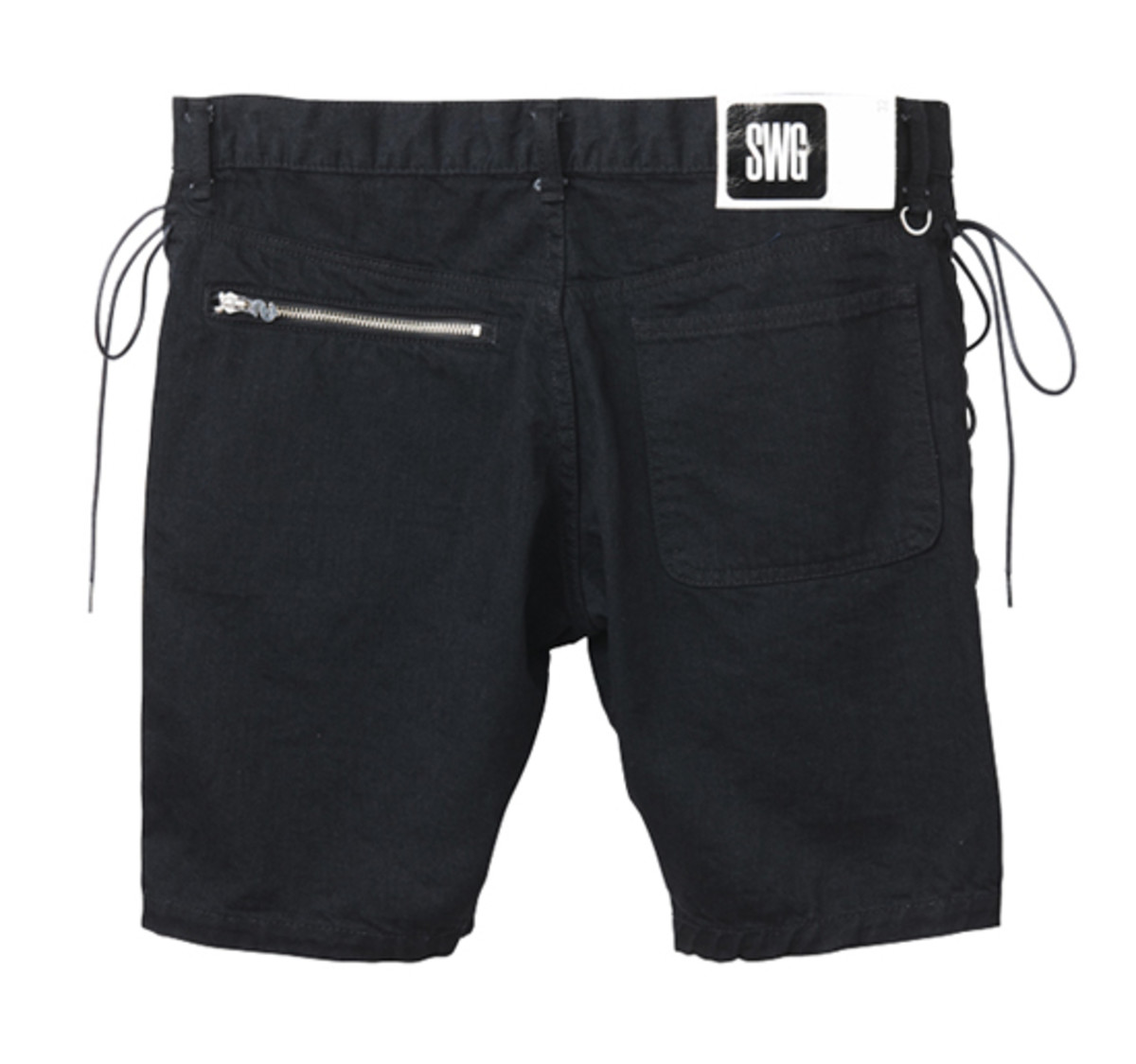 M.E.T.A.L. Denim Shorts Black 2