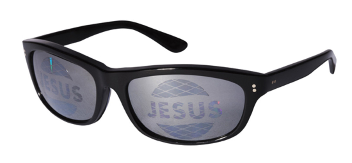 Jesus Sunglass Black