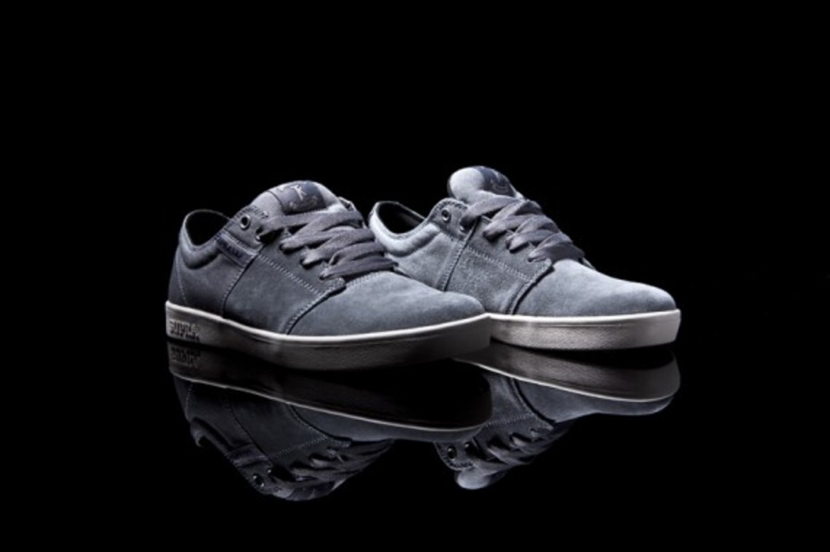 The Stacks Grey Suede