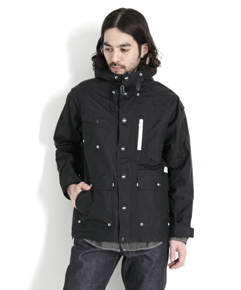 Nylon Field Mountain Parka