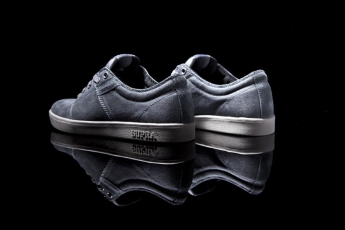 The Stacks Grey Suede 3