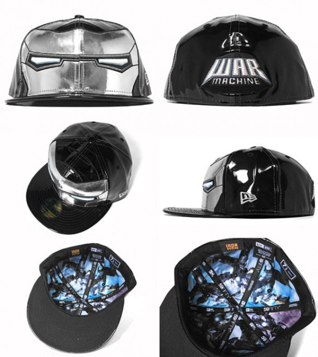 Marvel x New Era - Iron Man 2 59FIFTY Caps - Freshness Mag a1d812ba33d3