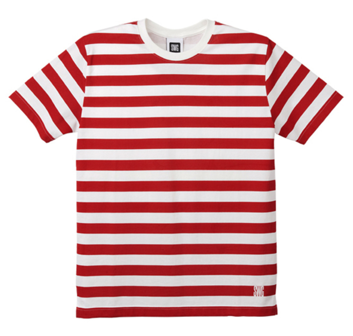 Border T-Shirt Red
