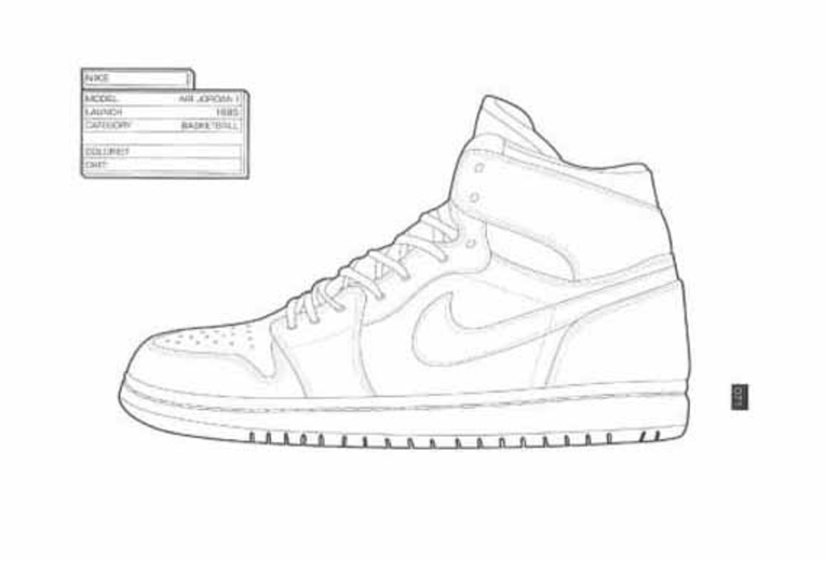 The Sneaker Coloring Book - Freshness Mag