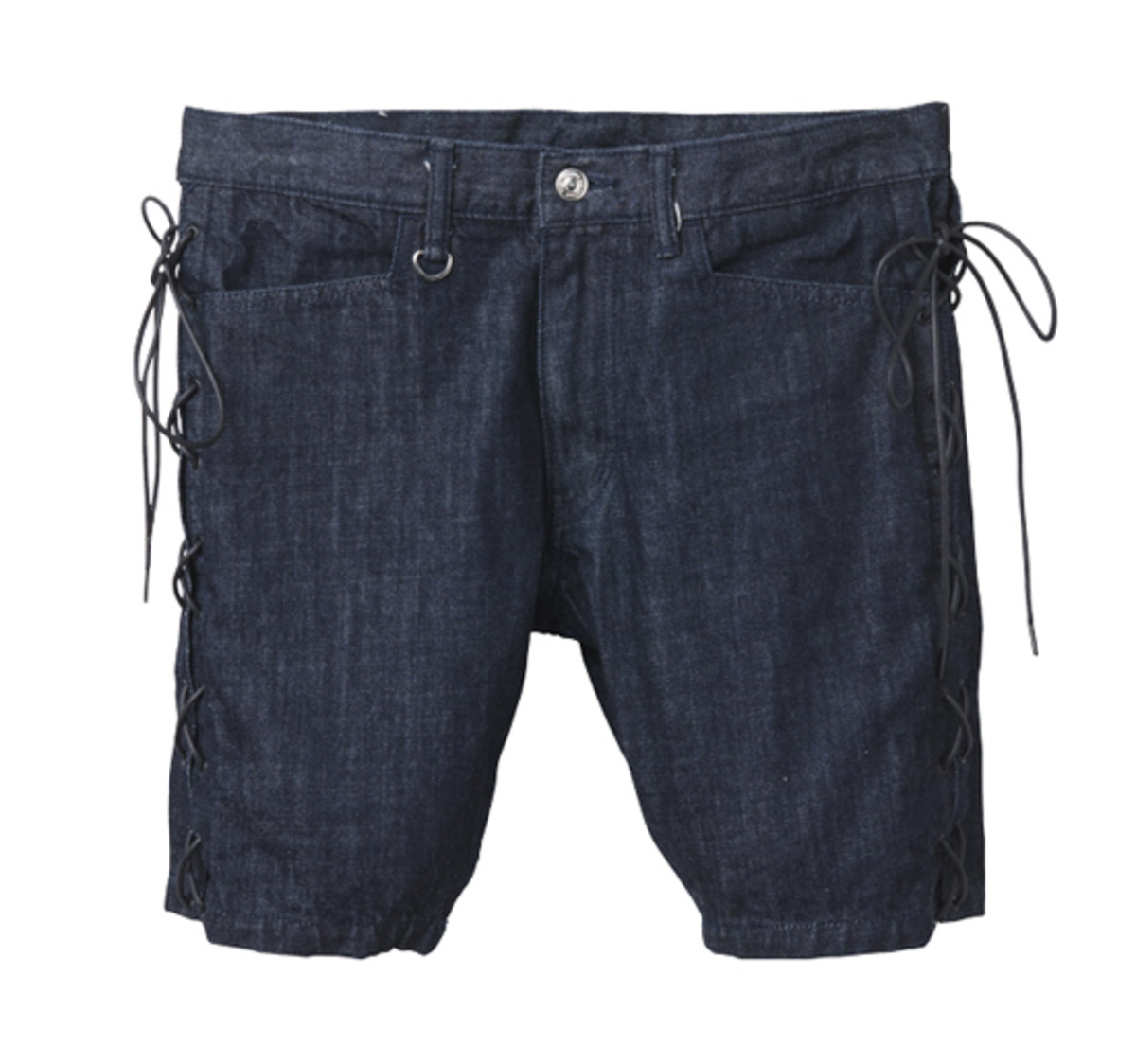 M.E.T.A.L. Denim Shorts Indigo