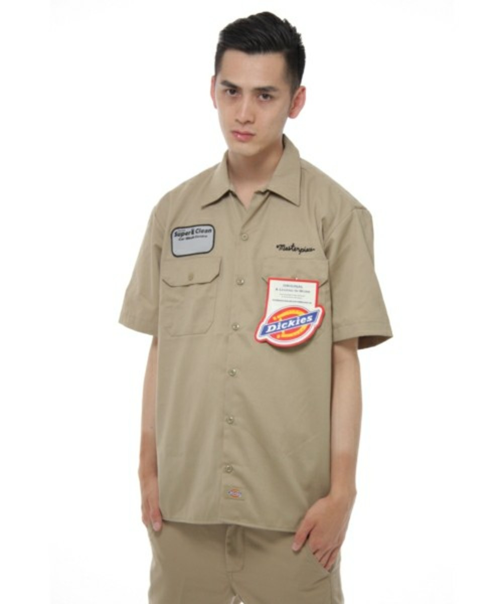 x Dickies Work Shirt Beige