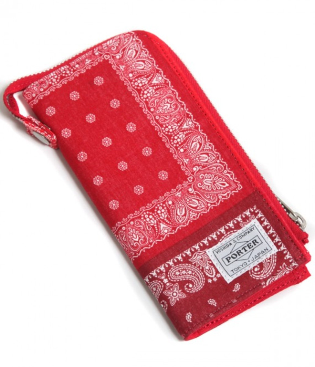 Long Wallet Red