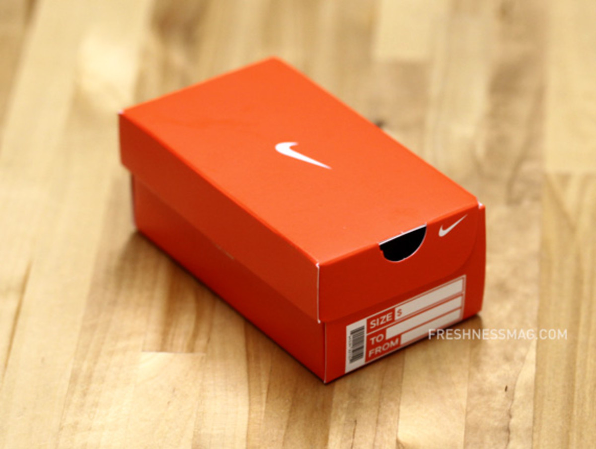 Nike Mini Shoe Box For Gift Card - Freshness Mag