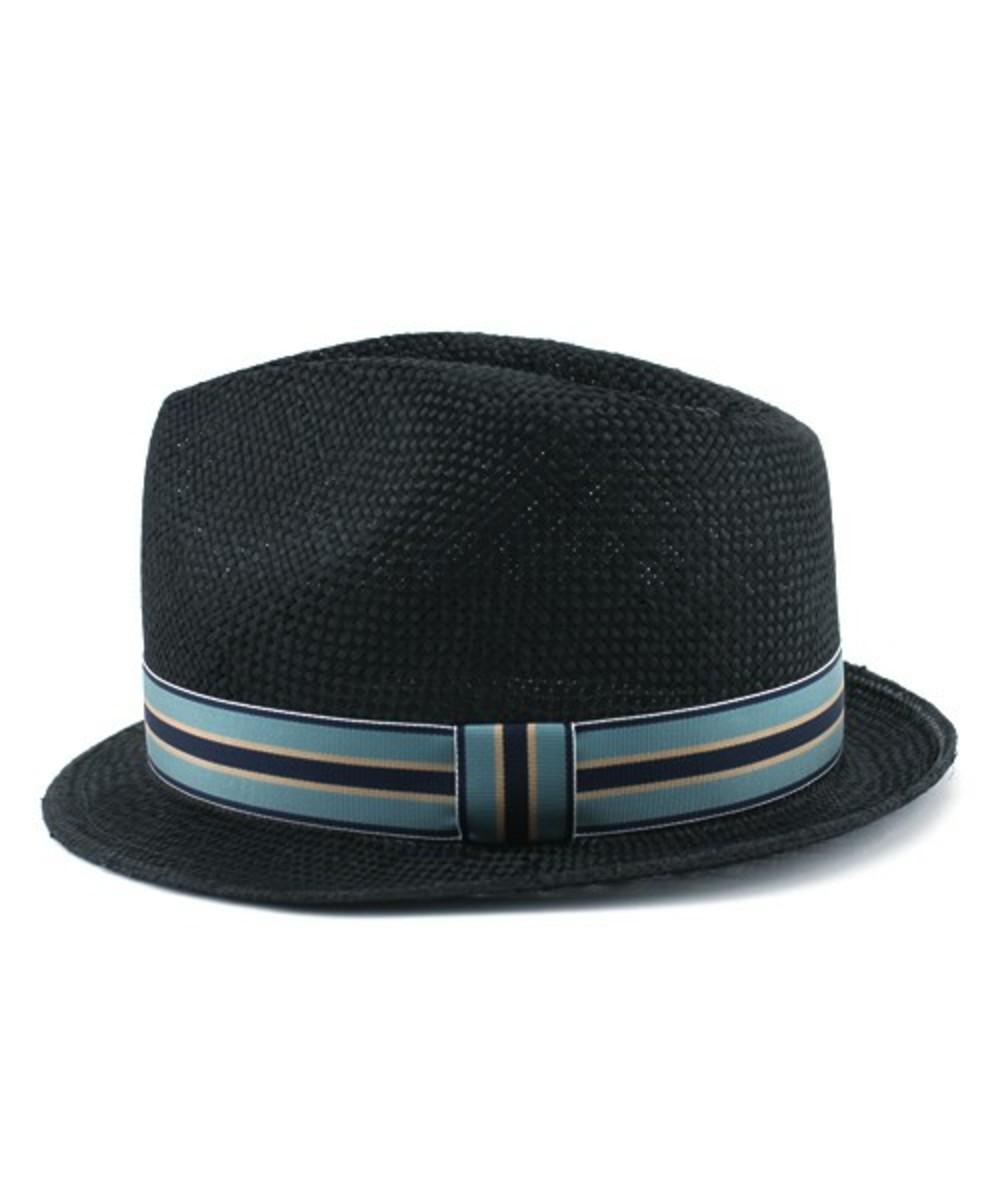 Straw Hat Black 2
