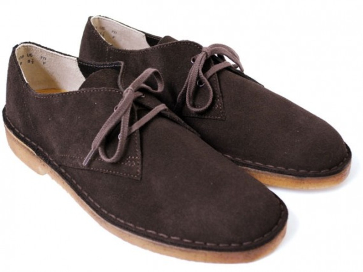 Desert Khan 2 Brown Suede