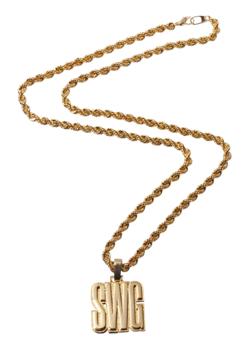 SWG Rope Chain Necklace Gold