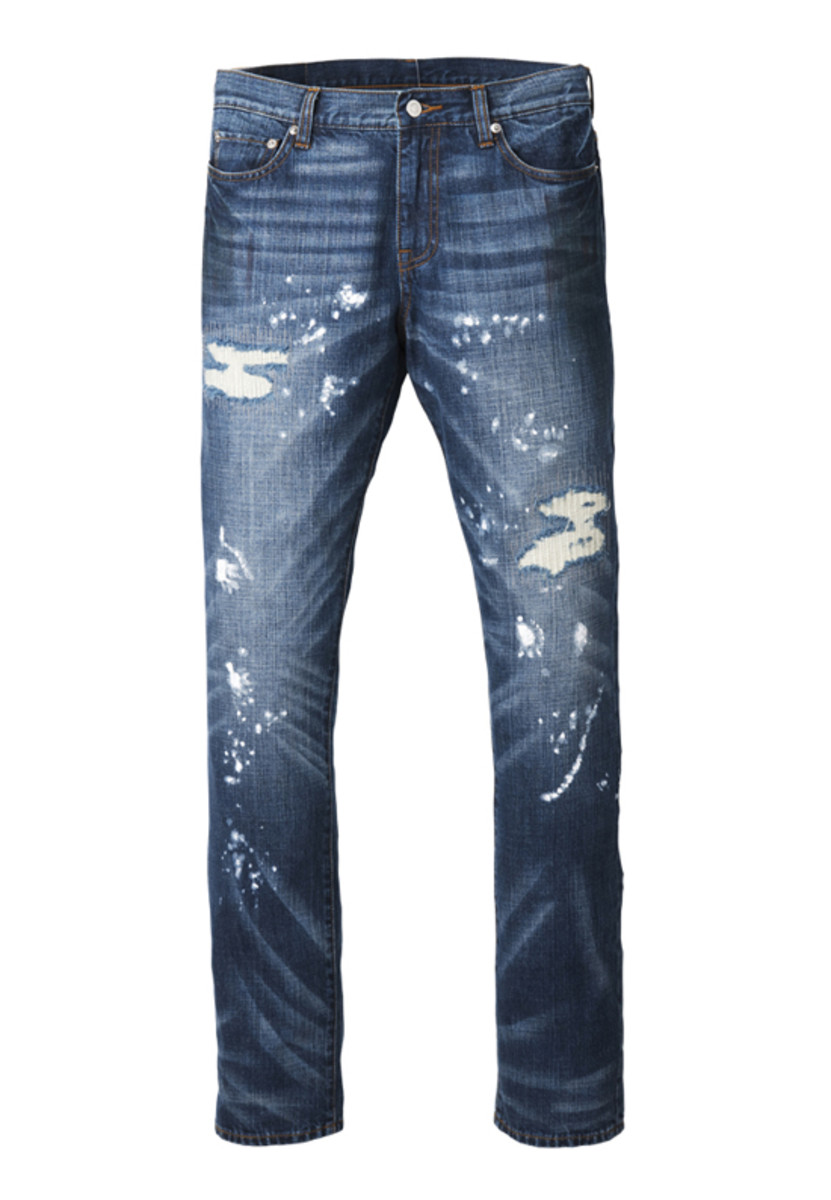 Vintage Denim Pants Indigo