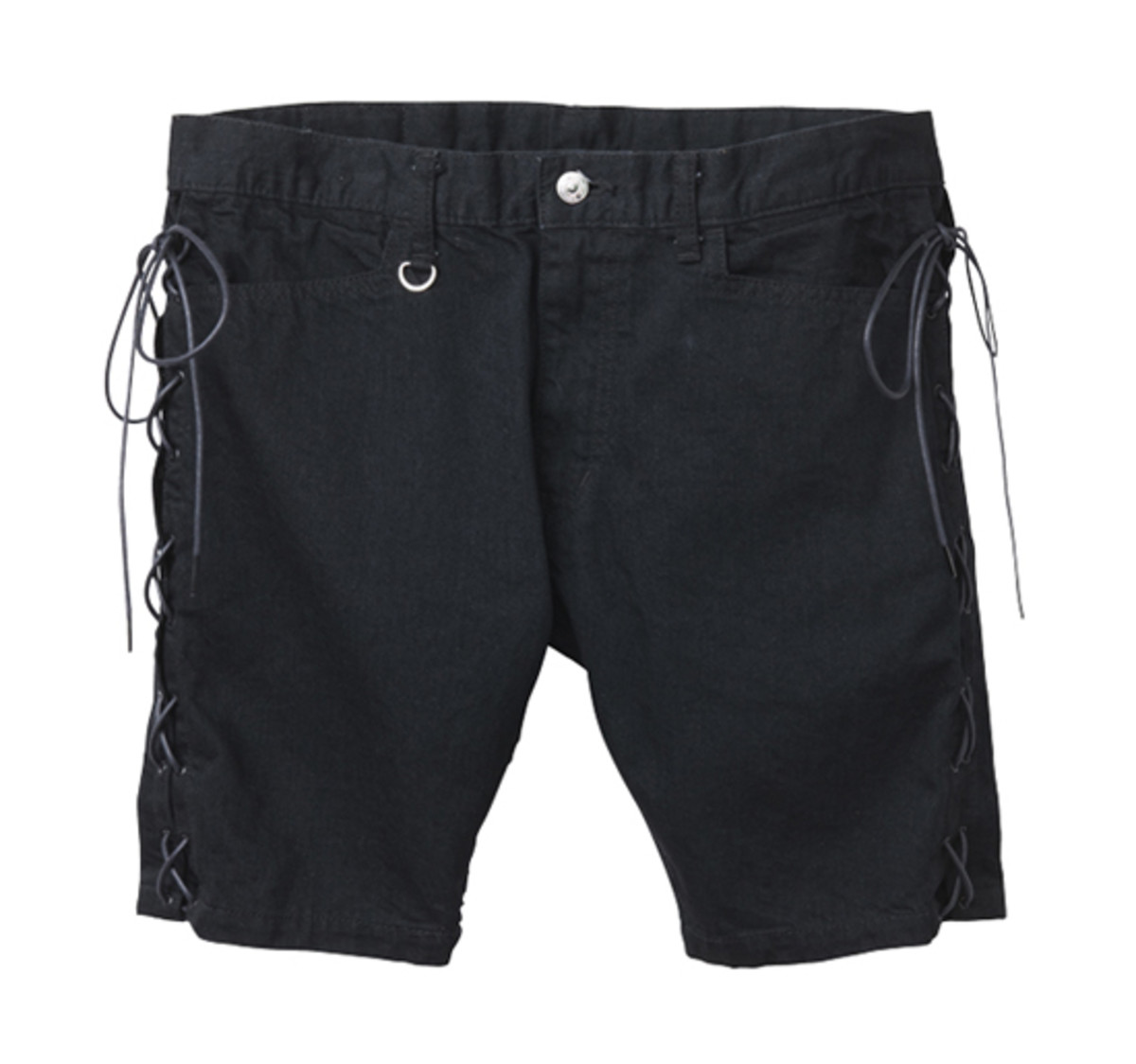 M.E.T.A.L. Denim Shorts Black