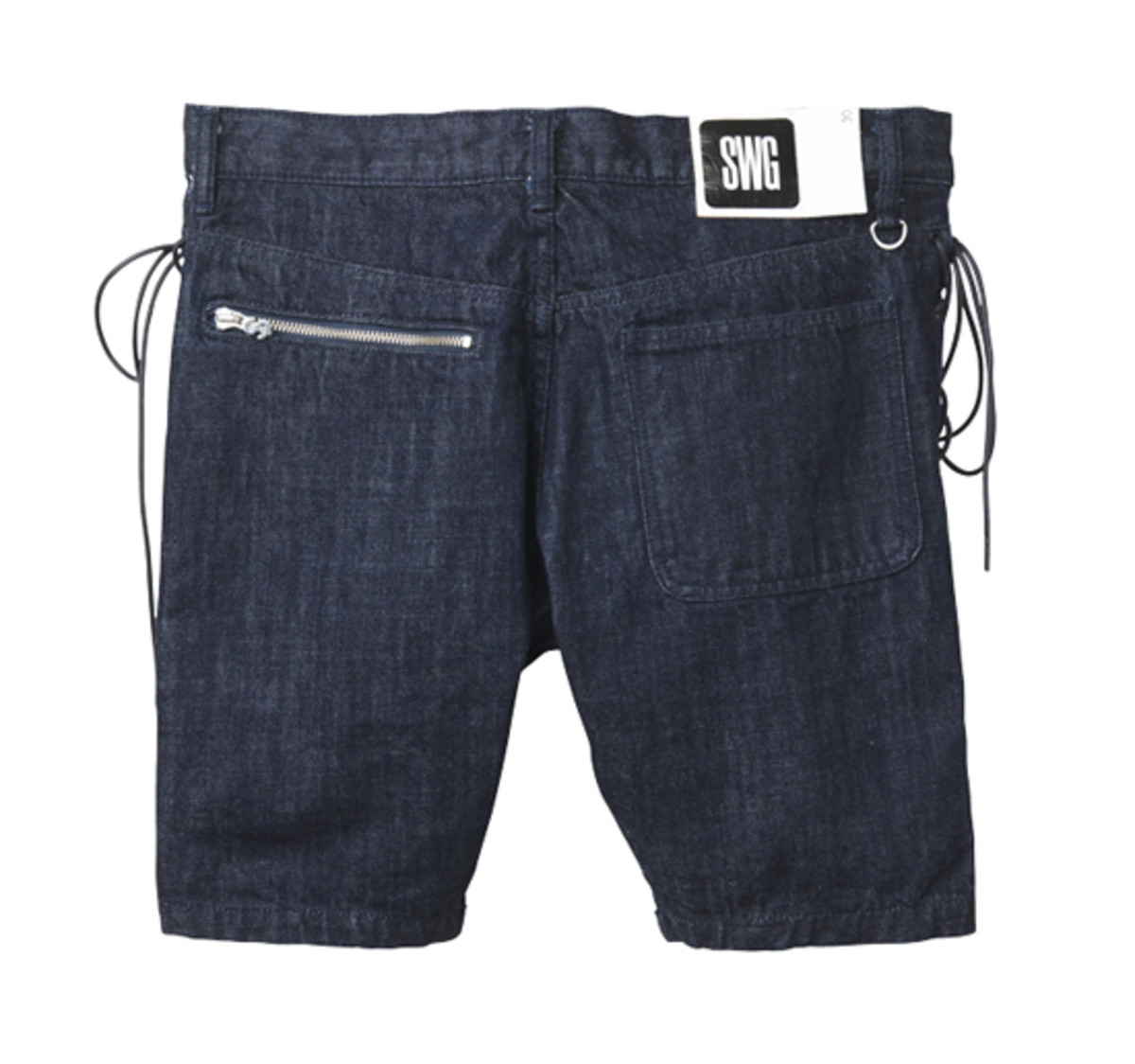 M.E.T.A.L. Denim Shorts Indigo 2