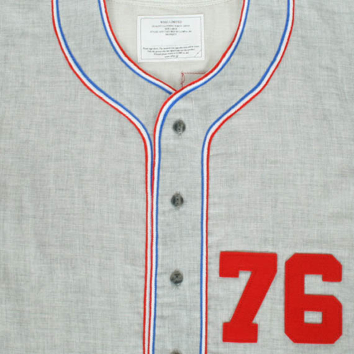 76 BB Shirt Gray 4