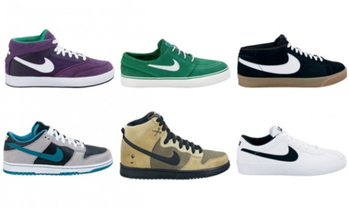 nike shoes released in 2010