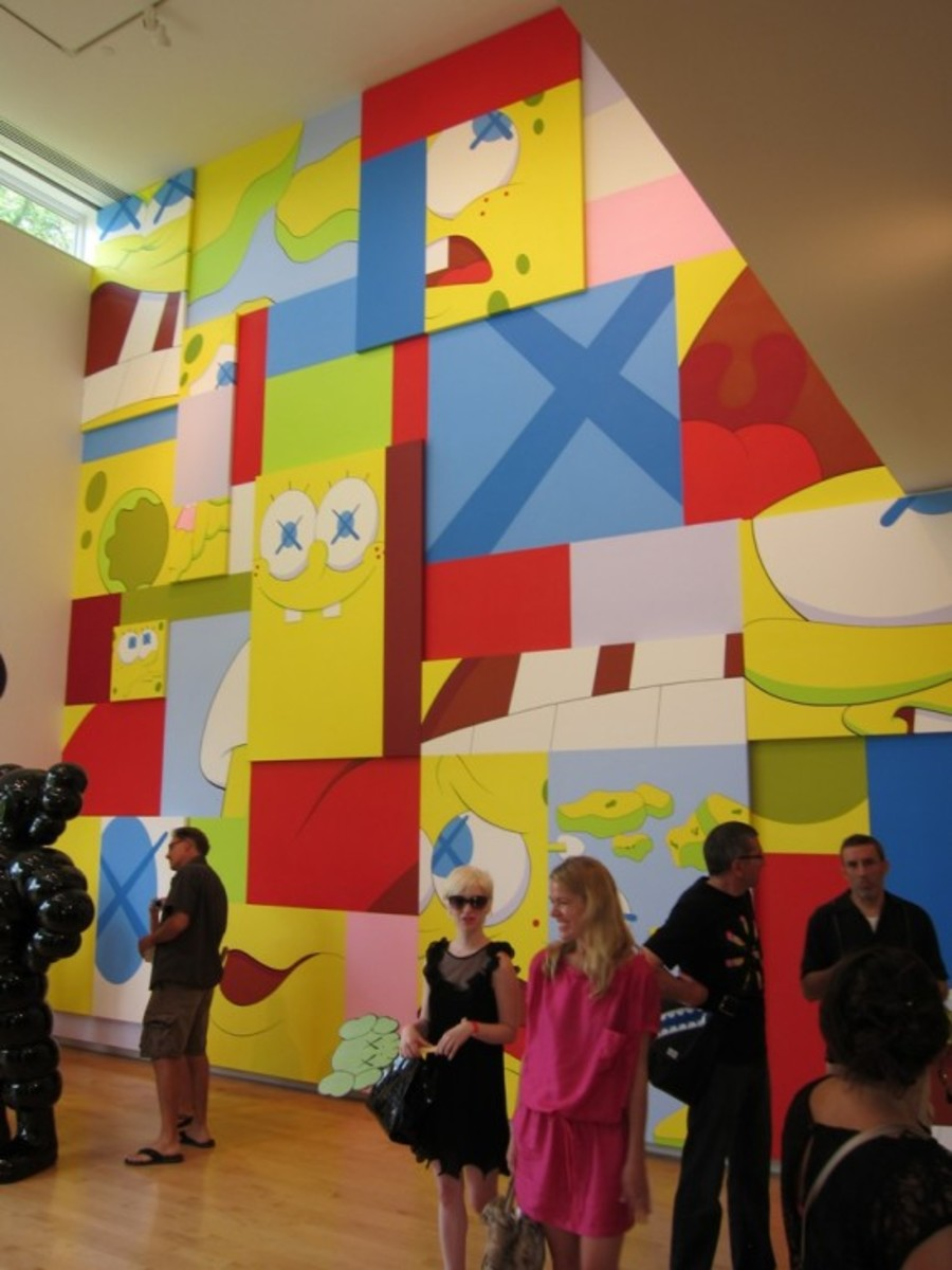 KAWS-Opening-Aldrich-Contemporary-Art-Museum-8