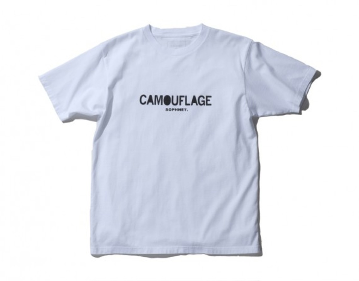 Camouflage Front Logo T-shirt White