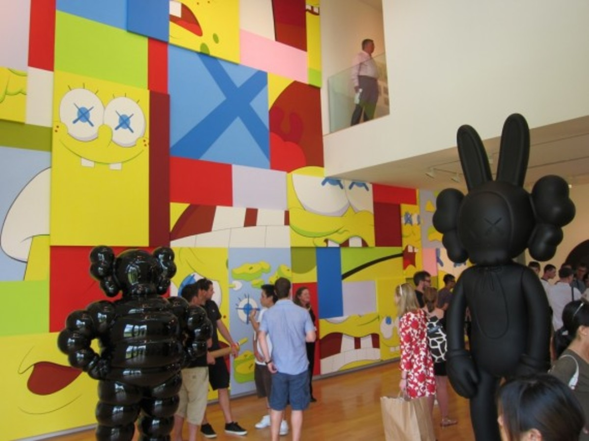 KAWS-Opening-Aldrich-Contemporary-Art-Museum-2