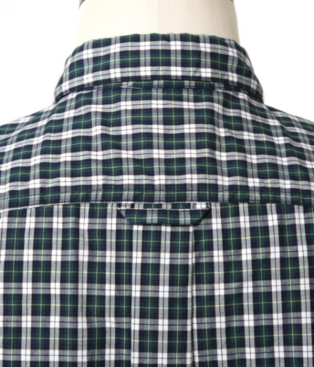 50.1 Cotton Check Bow Tie Shirt 6