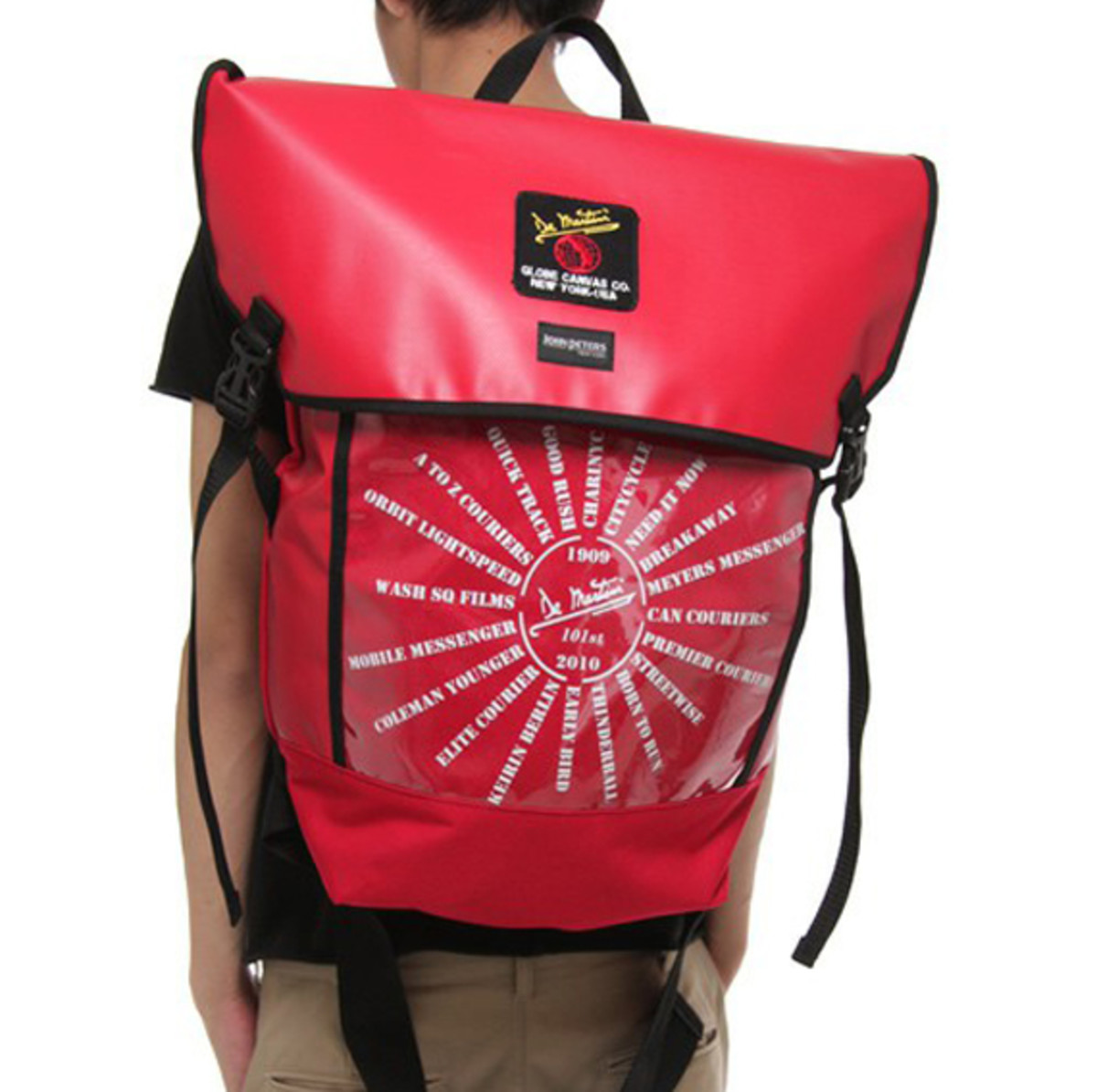 De Martini Backpack Red 8