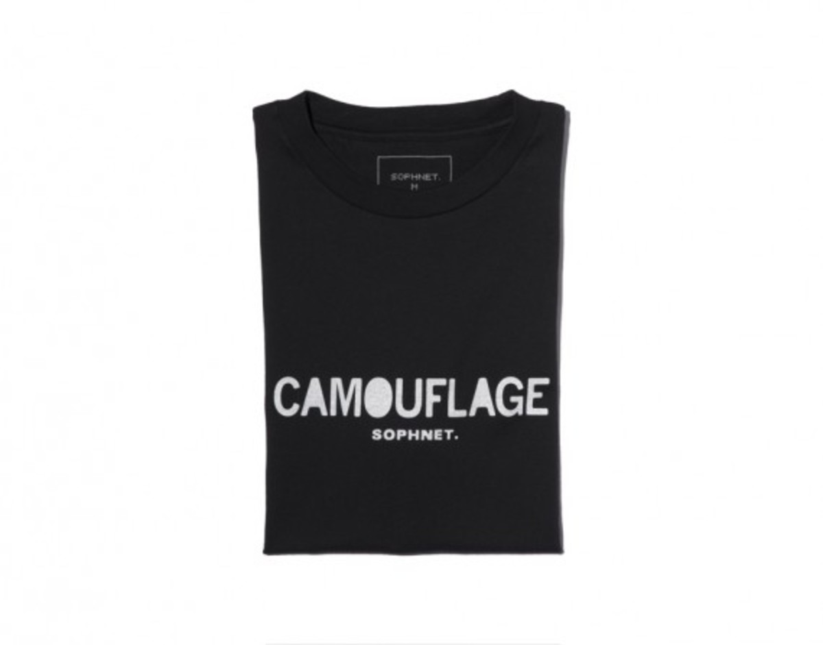 Camouflage Front Logo T-shirt Black