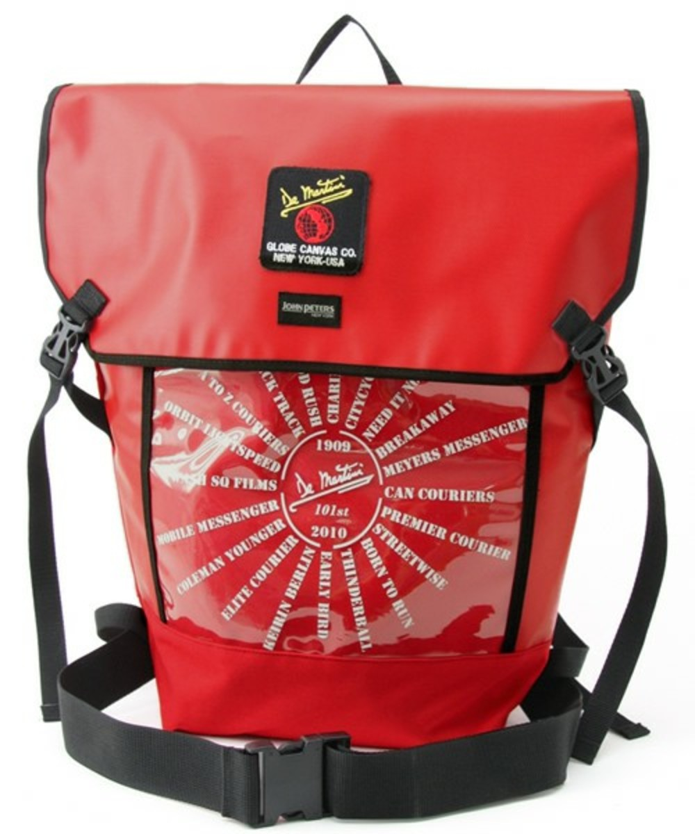 De Martini Backpack Red