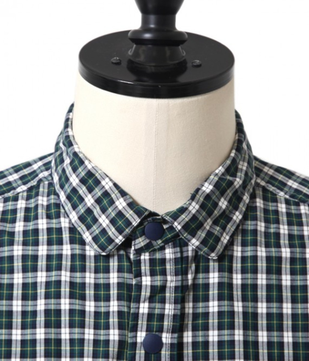 50.1 Cotton Check Bow Tie Shirt 5