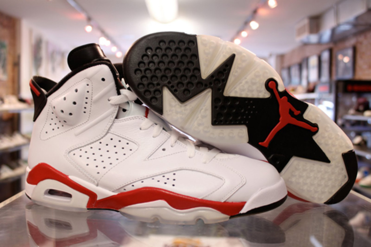 48973f15ecdfa5 Air Jordan VI (6) Retro - White Varsity Red