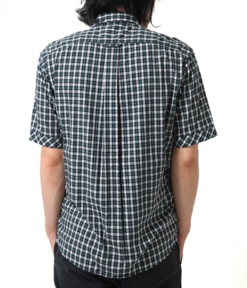 50.1 Cotton Check Bow Tie Shirt 3