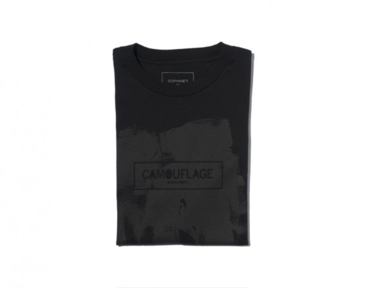 Camouflage Box Logo T-shirt Black