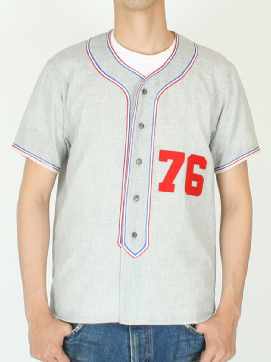 76 BB Shirt Gray