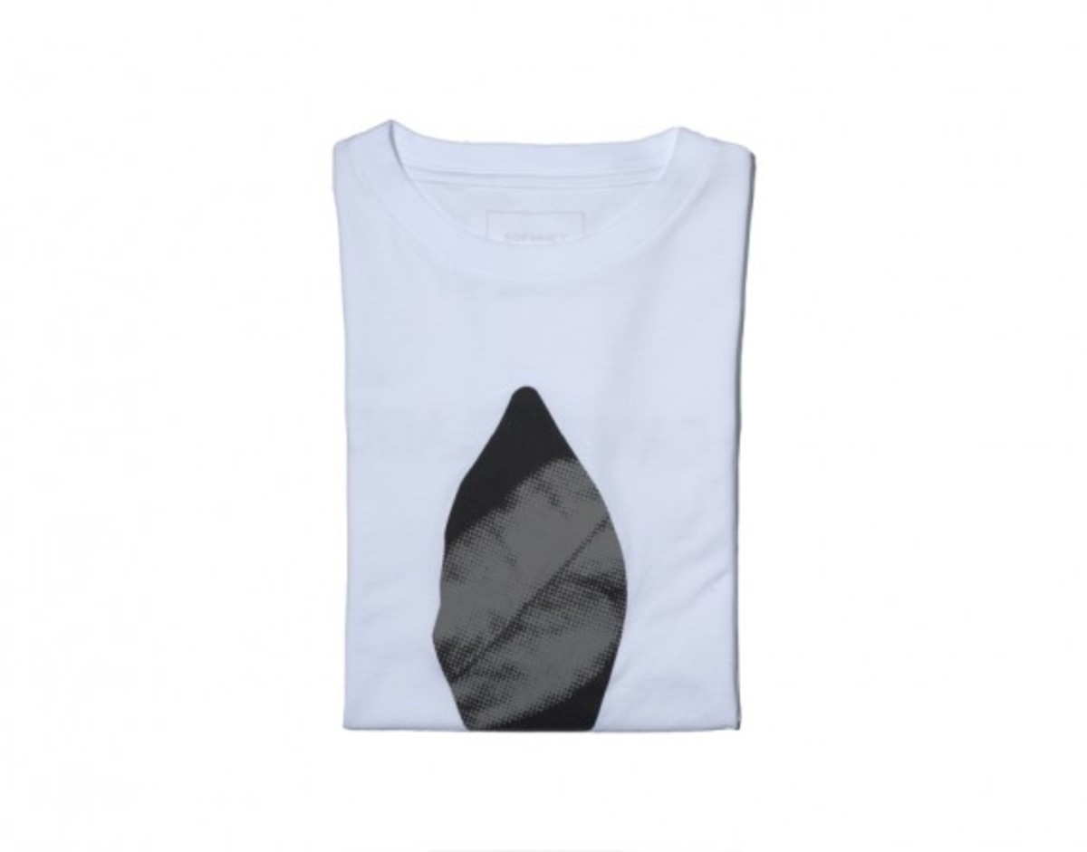 Leaf Camouflage T-shirt White