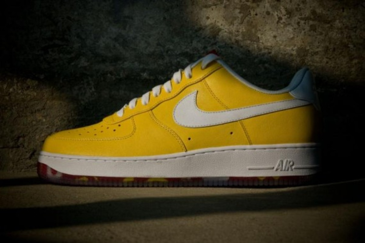 the best attitude 508b8 956ec Nike Air Force 1 - WBF Collection - Brazil. world-basketball-festival-nike -af1-china-01