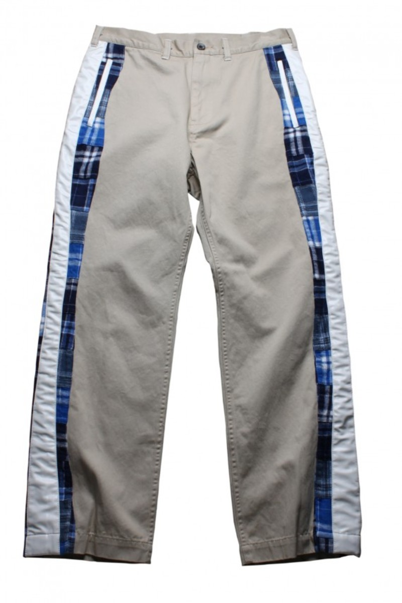 Leather Lined Pocket Chino_Beige