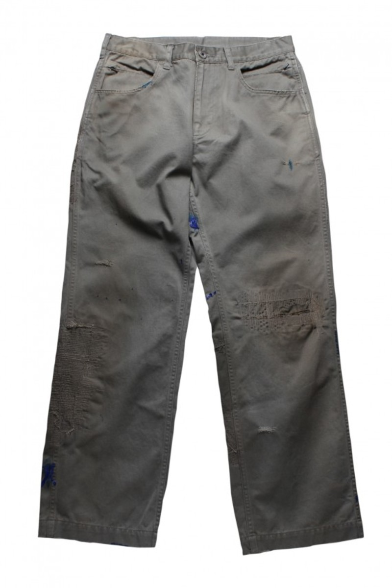 super used chino reconstructed_Army Green