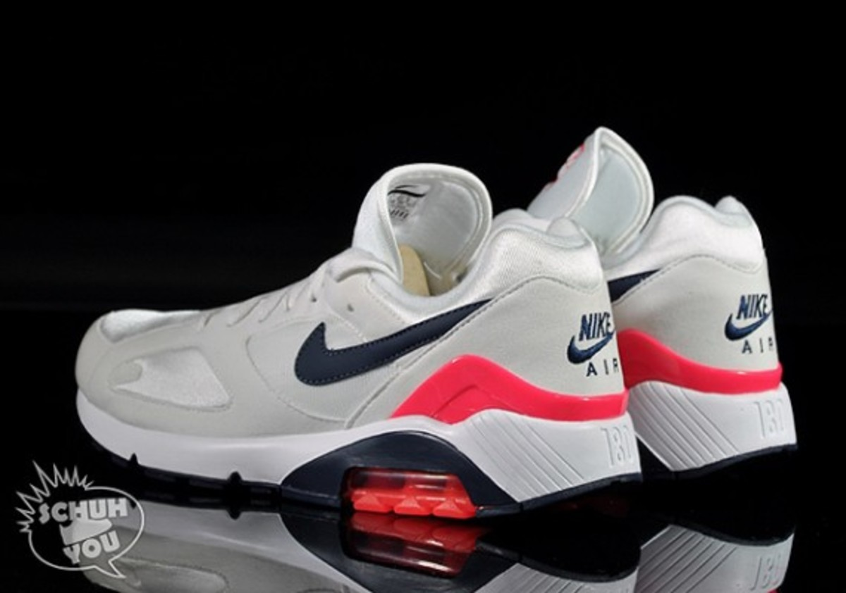 red nike lunarlon nike air max 180