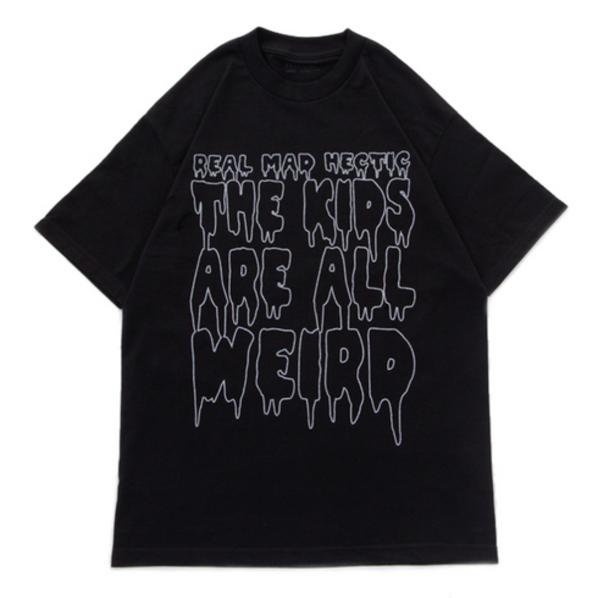 Slogan T-Shirt Black