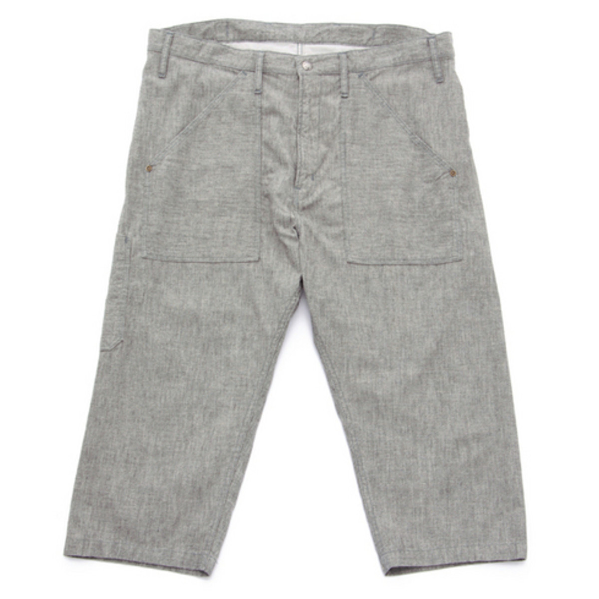 World Workers Cropped Pants Gray