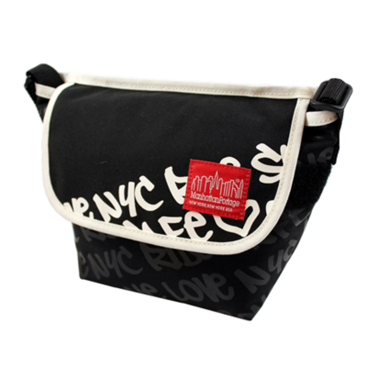 Graphic Message Casual Messenger Bag Small 6