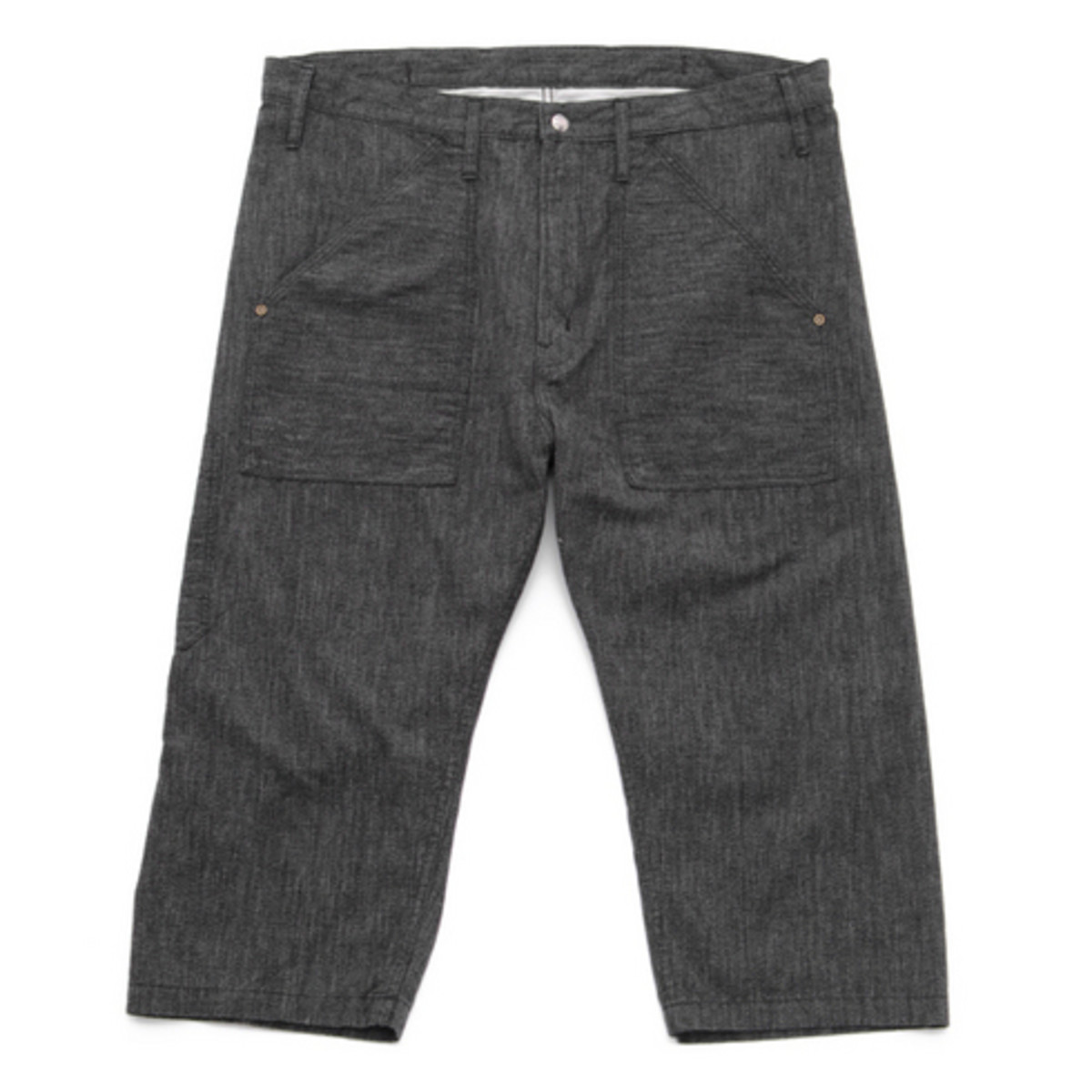 World Workers Cropped Pants