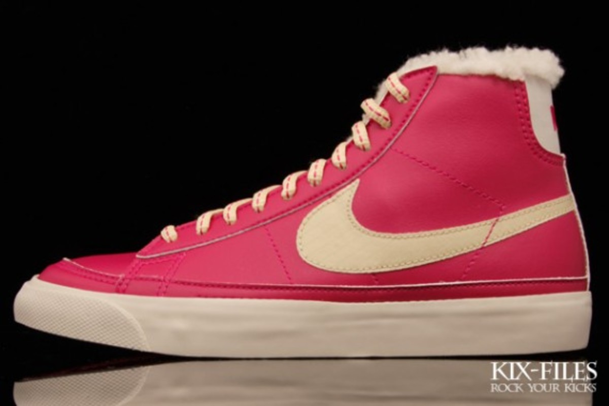 Nike WMNS Blazer Mid - Cotton Candy & Toffee - 2