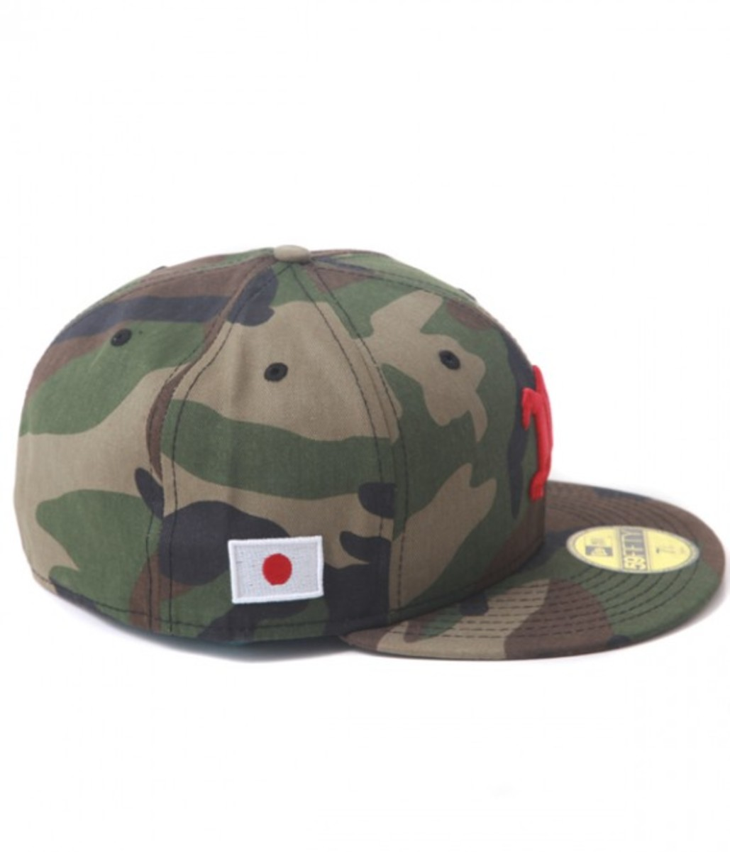 National Flag Woodland Camo 3