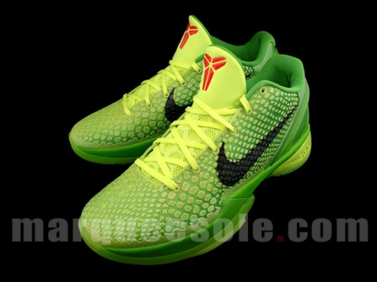 nike zoom kobe vi christmas for sale