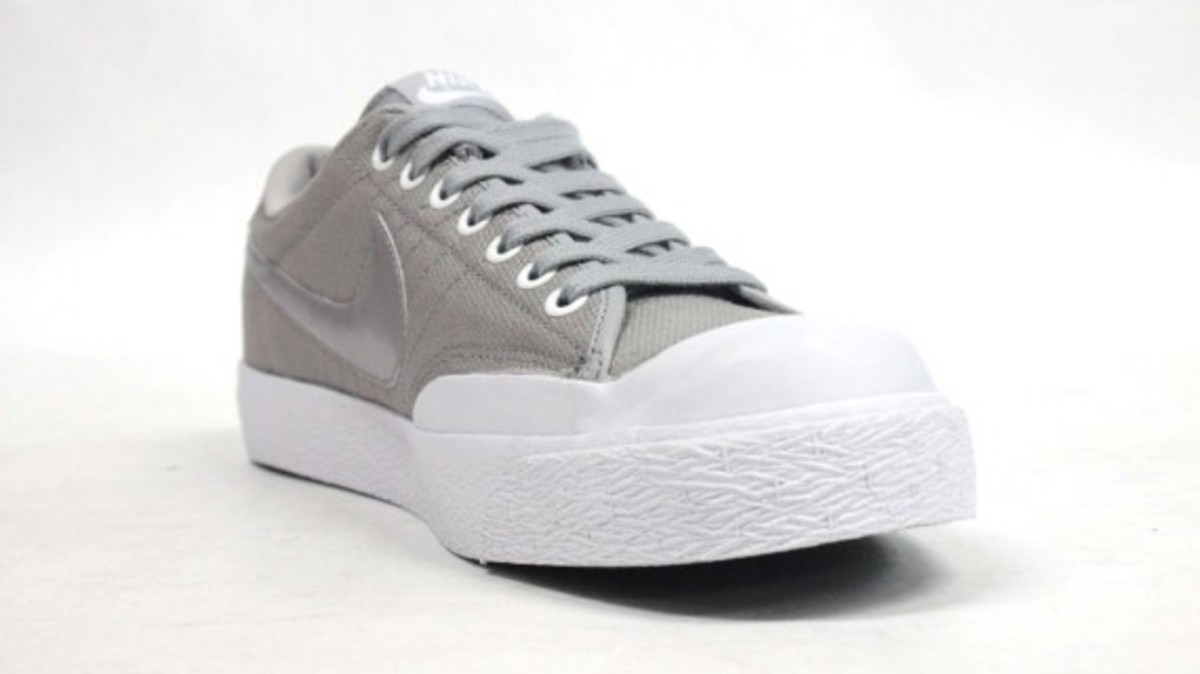All Court Canvas Gray 5