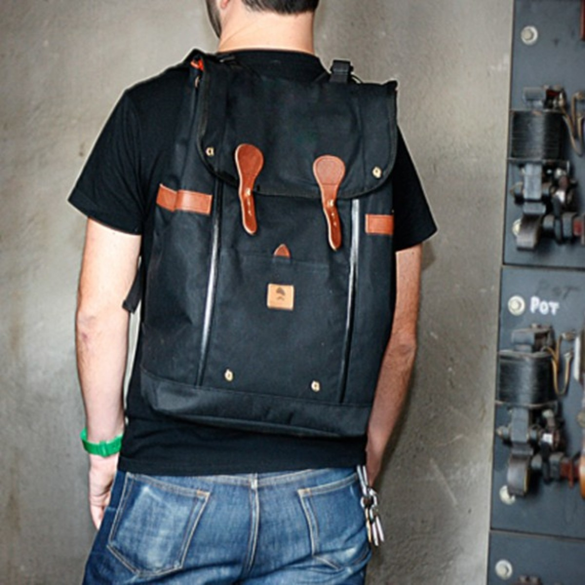 Babylon Backpack Black 5