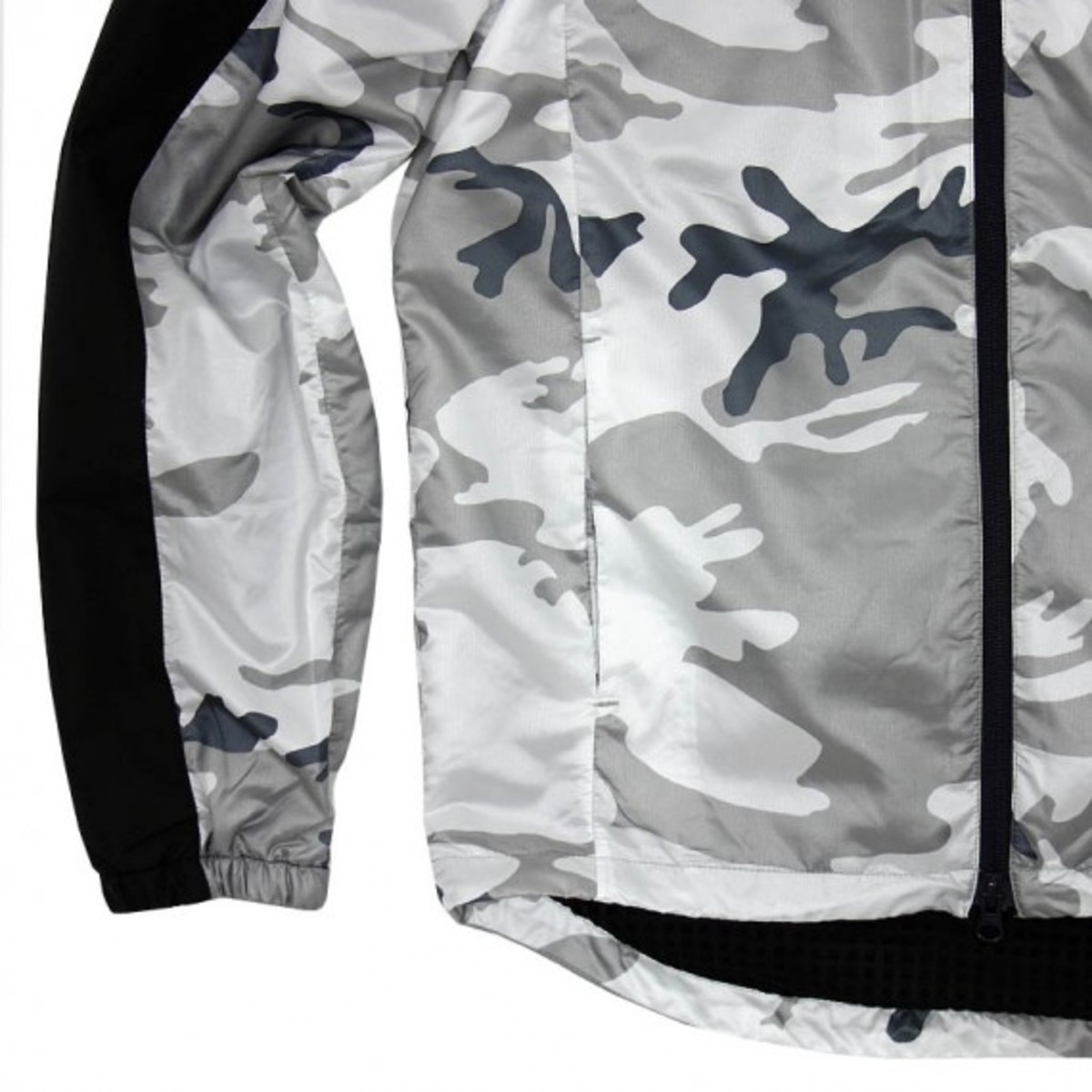 NSW AFE Slant Zip Jacket White 5
